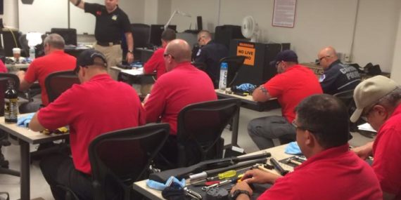 Dave Brancato and Mike Champa Teach a Benelli Armorer Course for Team One Network