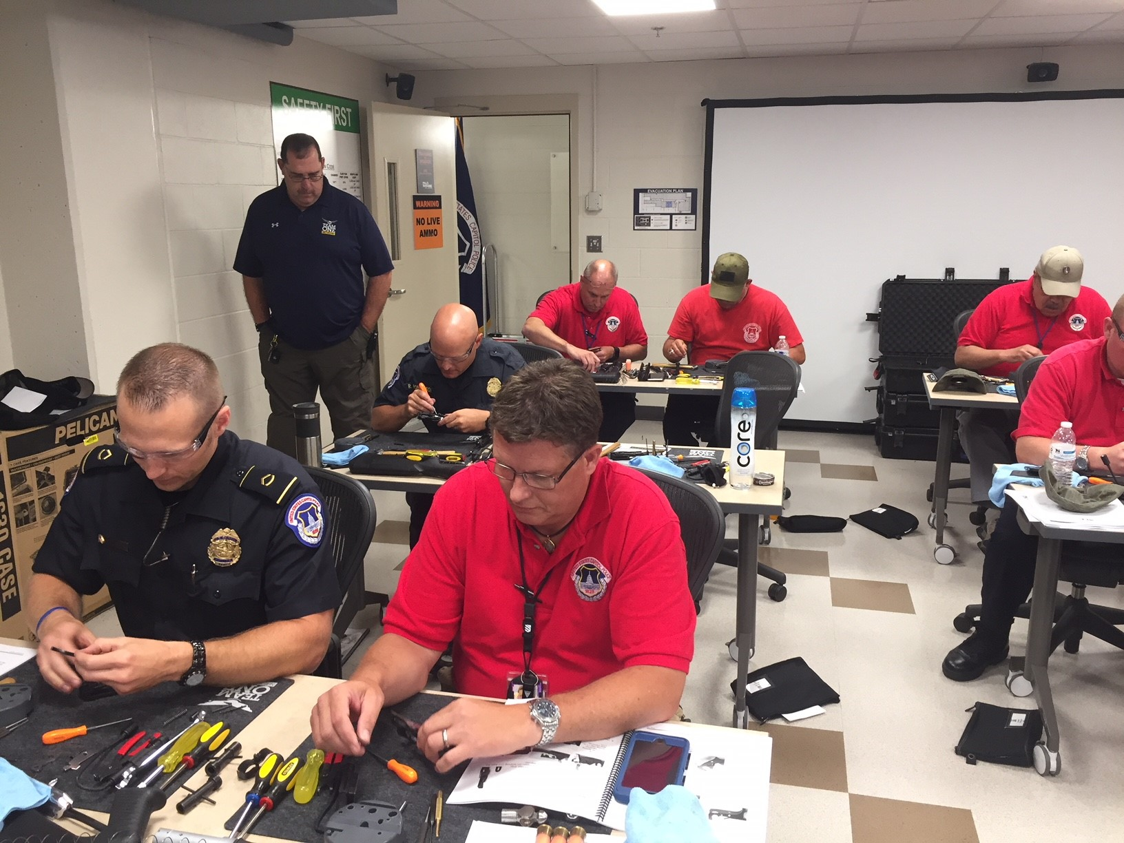 Team One Network conducts Ruger and Benelli Armorer Training for the US Capital Police