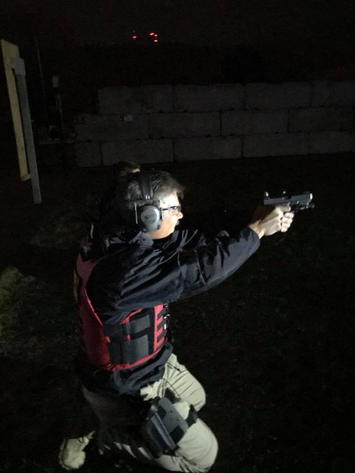 Team One Network and Streamlight Inc Provide Low Light Tactics Instruction for Police Officers