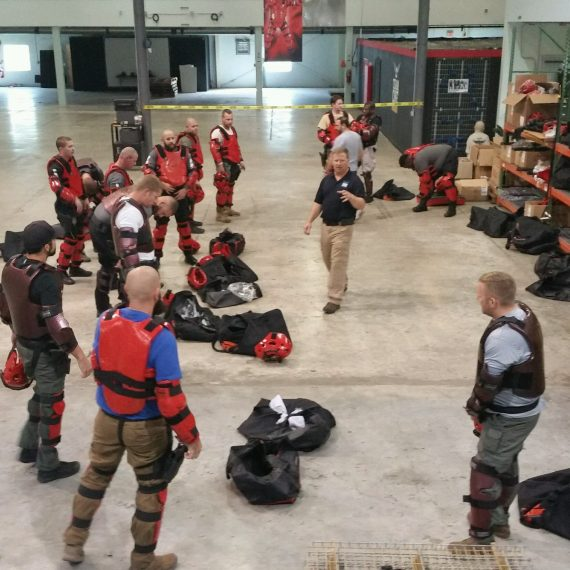 Ray Merlin and Fred Yates Conducted a RedMan and Simunition Instructor Course in Tampa FL