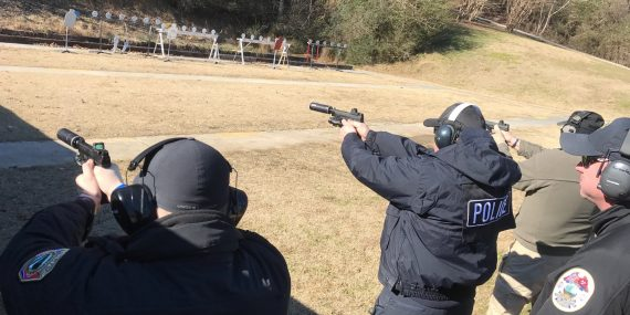 Team One Network and Blackhawk train police officers to use suppressors